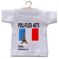 4675 Bílá sublimační tisková nažehlovací fólie / Poli-flex