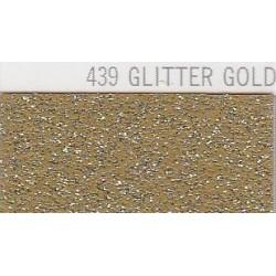 439 Zlatá Glitter nažehlovací fólie / POLI-FLEX