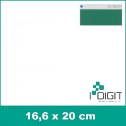 Nažehlovací fólie zelená / Green 404 (arch)