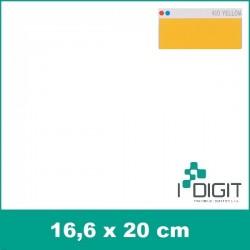 Nažehlovací fólie žlutá / Yellow 410 (arch)