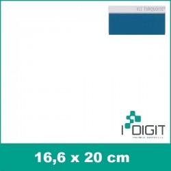 Nažehlovací fólie tyrkysová / Turquoise 413 (arch)