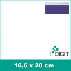 Nažehlovací fólie nachová / Purple 414 (arch)