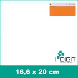 Nažehlovací fólie oranžová / Orange 415 (arch)