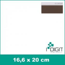Nažehlovací fólie hnědá / Brown 416 (arch)