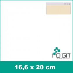 Nažehlovací fólie béžová / Beige 417 (arch)