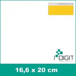 Nažehlovací fólie středně žlutá / Medium Yellow 418 (arch)