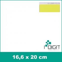 Nažehlovací fólie citrónově žlutá / Lemon Yellow 419 (arch)