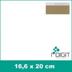 Nažehlovací fólie zlatá / Gold Metallic 420 (arch)