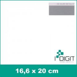 Nažehlovací fólie stříbrná / Silver Metallic 430 (arch)