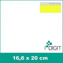 Nažehlovací fólie neonová žlutá / Neon Yellow 440 (arch)