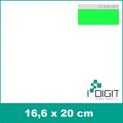 Nažehlovací fólie neonová zelená / Neon Green 441 (arch)