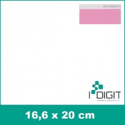 Nažehlovací fólie magenta / Magenta 460 (arch)