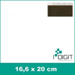 431A Brilliantová stříbrná (Arch) nažehlovací fólie / POLI-FLEX PREMIUM