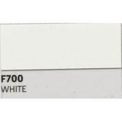 F700 WHITE TURBO Nažehlovací fólie / Bílá