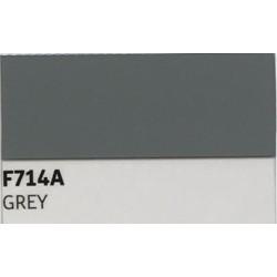 F714 GREY TURBO Nažehlovací fólie / Šedá