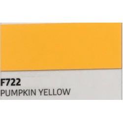 F722 PUMPKIN YELLOW TURBO Nažehlovací fólie / Dýňová žlutá