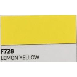 F728 Citrónově žlutá TURBO FLEX B-FLEX nažehlovací fólie / Lemon yellow