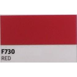 F730 Červená TURBO FLEX B-FLEX nažehlovací fólie / Red