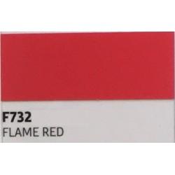 F732 Ohnivě červená TURBO FLEX B-FLEX nažehlovací fólie / Flame red