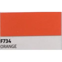 F734 Oranžová TURBO FLEX B-FLEX nažehlovací fólie / Orange