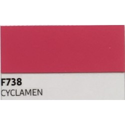 F738 Cyclamen TURBO FLEX B-BLEX nažehlovací fólie / Cyclamen