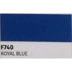 F740 Královská modrá TURBO FLEX B-FLEX nažehlovací fólie / Royal blue