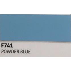 F741 POWDER BLUE TURBO Nažehlovací fólie / Práškově modrá