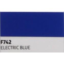 F742 Elektrizující modrá TURBO FLEX B-FLEX nažehlovací fólie / Electric blue