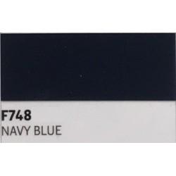 F748 NAVY BLUE TURBO Nažehlovací fólie / Námořnická modrá