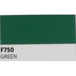 F750 Zelená TURBO FLEX B-FLEX nažehlovací fólie / Green