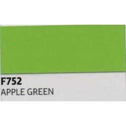 F752 Jablečně zelená TURBO FLEX B-FLEX nažehlovací fólie / Apple green