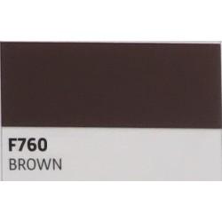 F760 Hnědá TURBO FLEX B-FLEX nažehlovací fólie / Brown