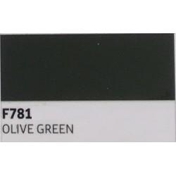 F781 Olivově zelená TURBO FLEX B-FLEX nažehlovací fólie / Olive green