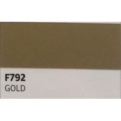F792 GOLD TURBO Nažehlovací fólie / Zlatá