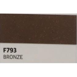 F793 BRONZE TURBO Nažehlovací fólie / Bronzová