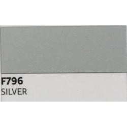 F796 SILVER TURBO Nažehlovací fólie / Stříbrná