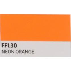 FF30 Neonově oranžová TURBO FLEX B-FLEX nažehlovací fólie / Neon orange