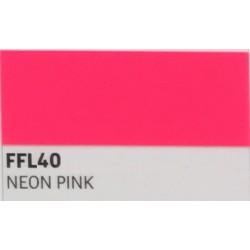 FF40 Neonově růžová TURBO FLEX B-FLEX nažehlovací fólie / Neon pink