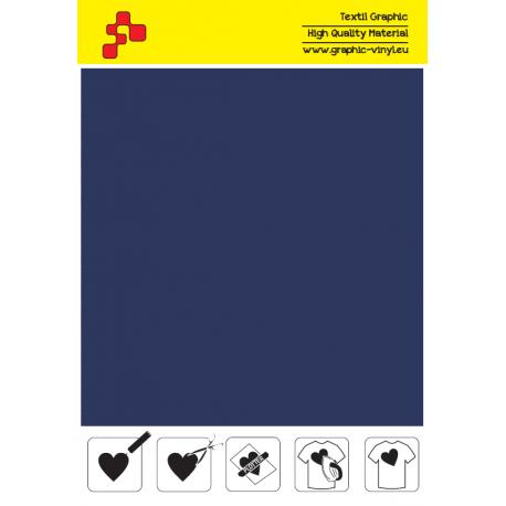 405A Námořnická modrá (Arch) nažehlovací fólie / POLI-FLEX PREMIUM