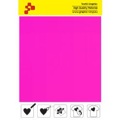 443A Neonově růžová (Arch) nažehlovací fólie / POLI-FLEX PREMIUM