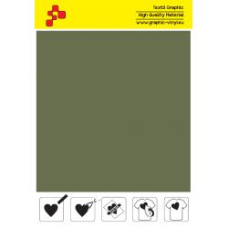 IDP469A Armádní zelená (Arch) nažehlovací fólie / iDigit