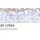 BF L796A Stříbrná Glam (Arch) nažehlovací fólie / B-flex