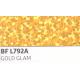 BF L792A Zlatá Glam (Arch) nažehlovací fólie / B-flex