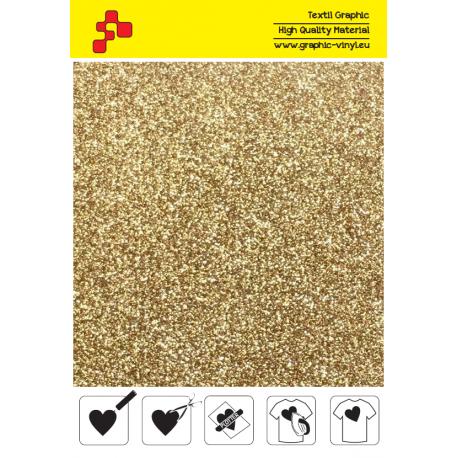IDP425A Perleťová světle zlatá (Arch) nažehlovací fólie / iDigit