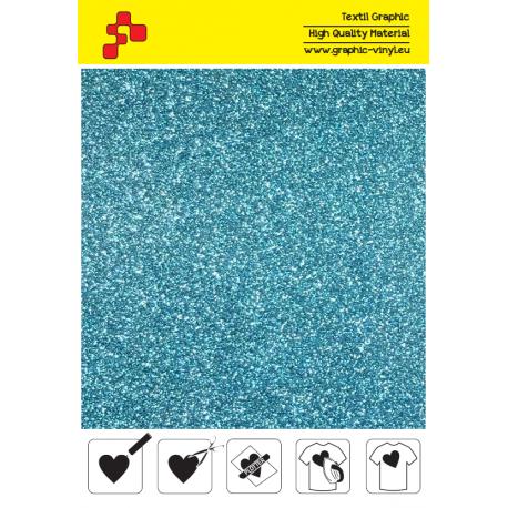 445A Perleťová nebesky modrá (Arch) nažehlovací fólie / POLI-FLEX