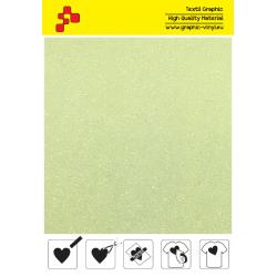 446A Perleťová neonově žlutá (Arch) nažehlovací fólie / POLI-FLEX