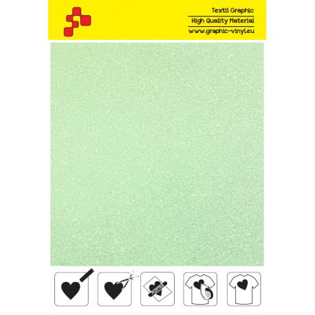 447A Perleťová neonově zelená (Arch) nažehlovací fólie / POLI-FLEX