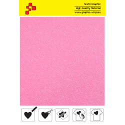IDP448A Perleťová neonově růžová (Arch) nažehlovací fólie / iDigit