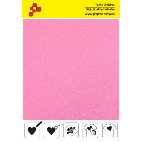 448A Perleťová neonově růžová (Arch) nažehlovací fólie / POLI-FLEX
