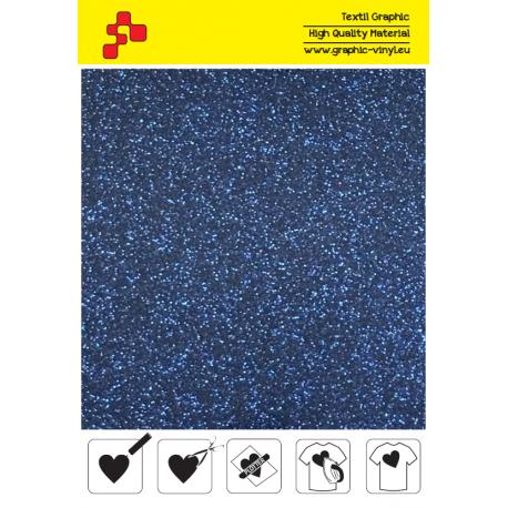 423A Perleťová namořnická modrá (Arch) nažehlovací fólie / POLI-FLEX